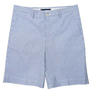 Felicity Navy Seersucker Short - Haspel Clothing