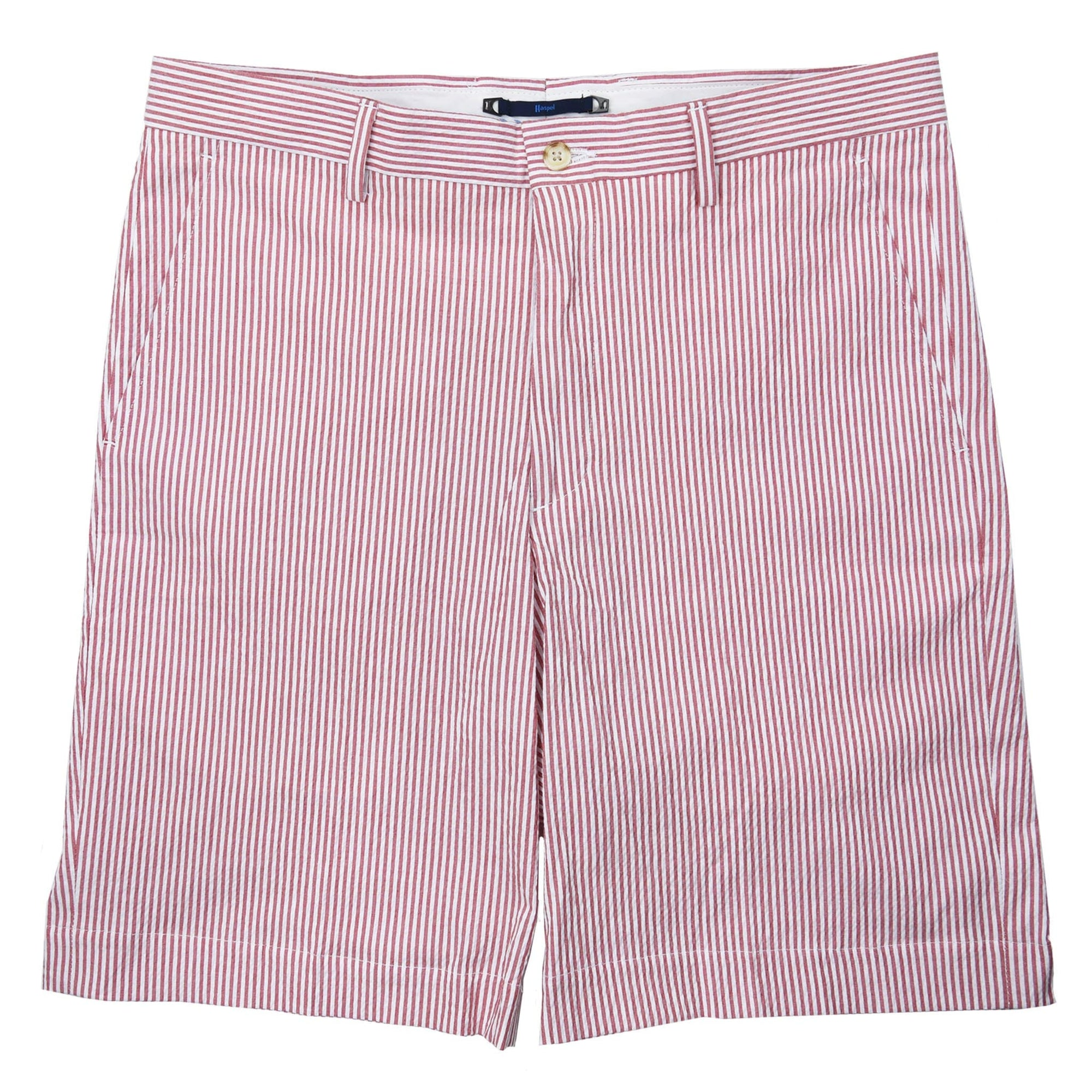 Felicity Red Seersucker Short - Haspel Clothing