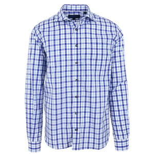 Audubon Navy & Light Blue Check