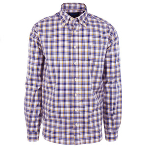 Franklin Purple & Gold Plaid - Haspel Clothing