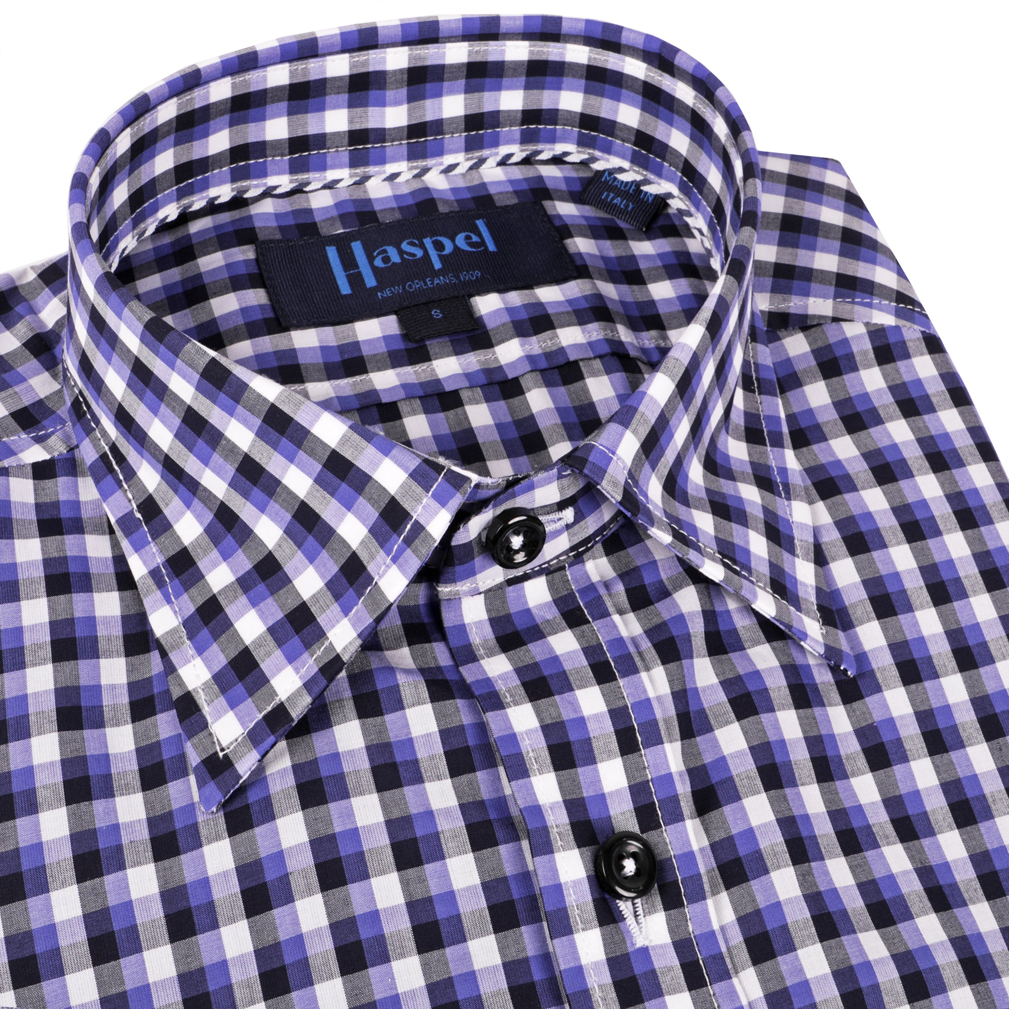 Treme Purple & Black Plaid