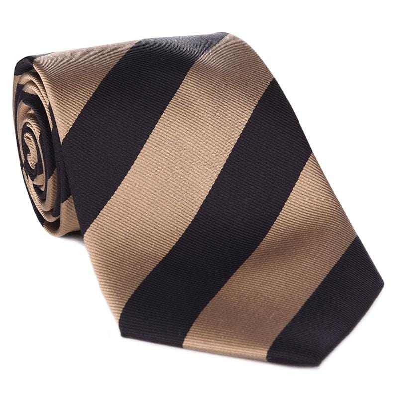 Black & Gold Collegiate Tie - Haspel Clothing