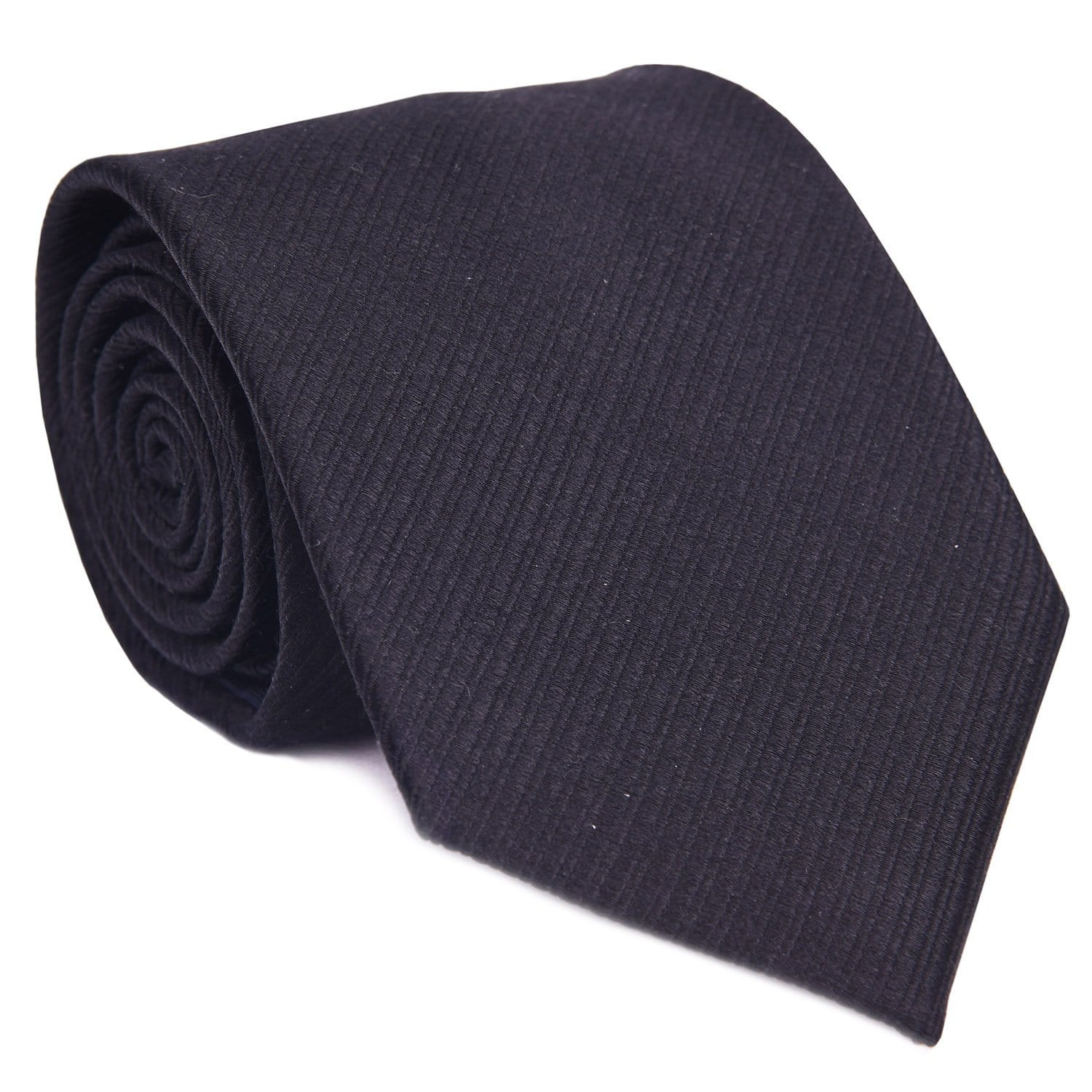 Black Formal Tone On Tone Tie - Haspel Clothing