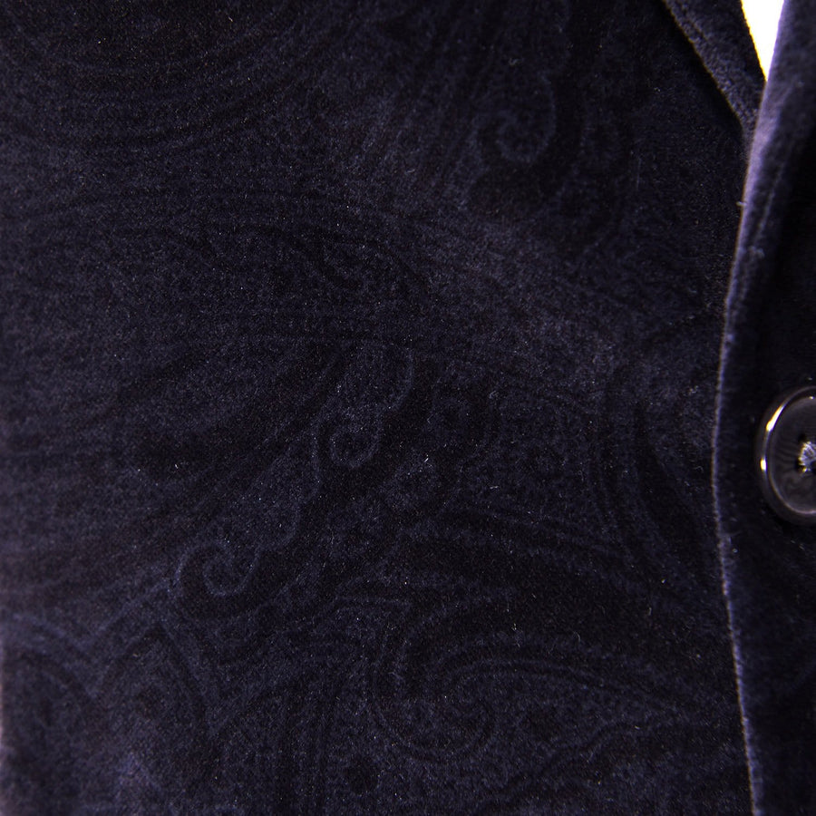 Cocktail Black Roosevelt Velvet Sport Coat