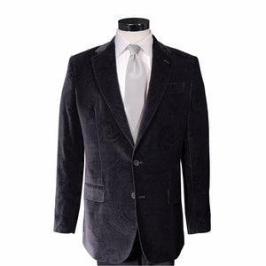 Cocktail Black Roosevelt Velvet Sport Coat - Haspel Clothing