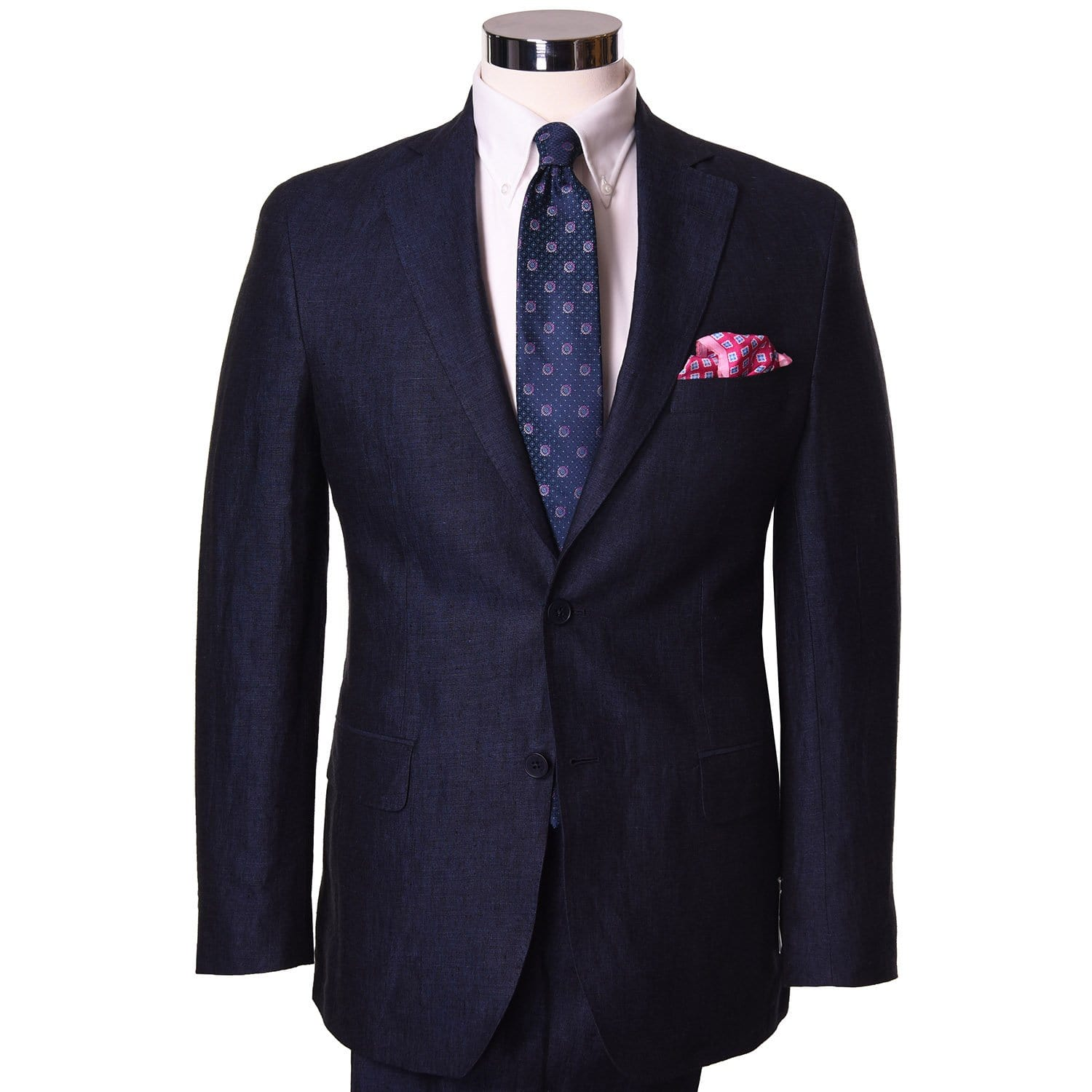 Blue Indigo Linen Sport Coat - Haspel Clothing