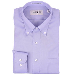Howard Lt. Blue Button Down Oxford Dress Shirt - Haspel Clothing