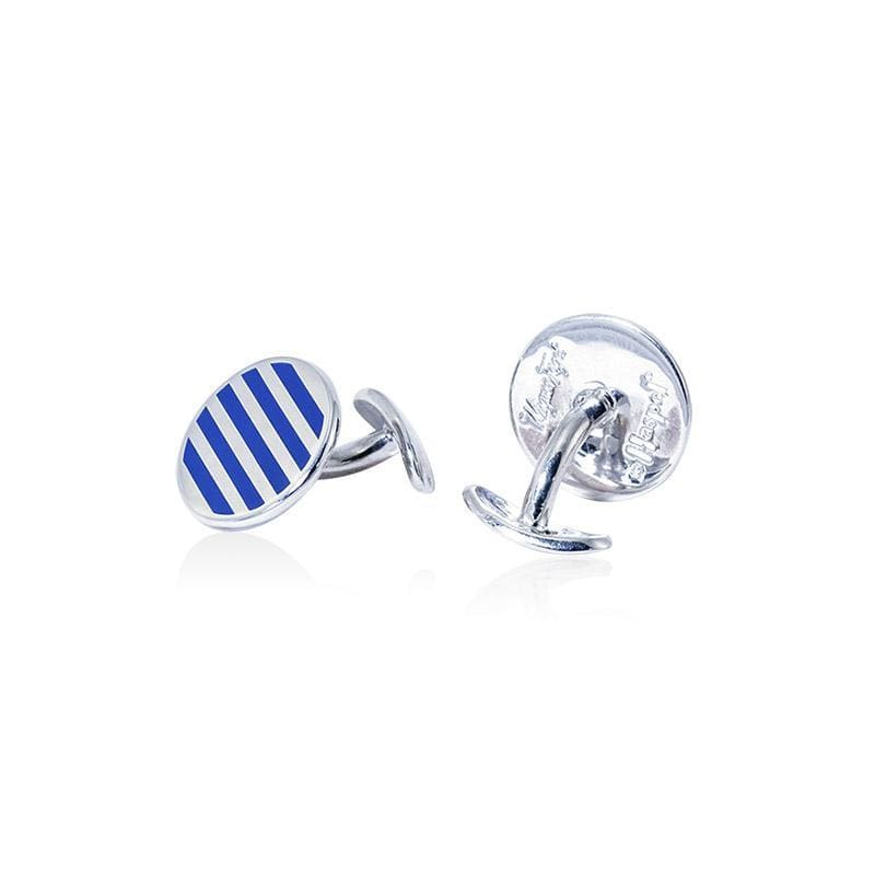 Haspel Seersucker Cufflinks Accessories Haspel BR