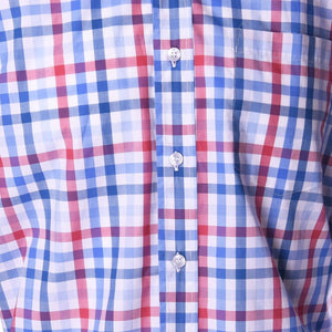 Franklin American Flag Check - Haspel Clothing