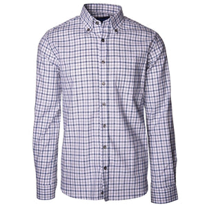 Franklin Gray & Navy Graph Check - Haspel Clothing