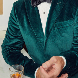 Holly Green Orpheum Velvet Sport Coat - Haspel Clothing
