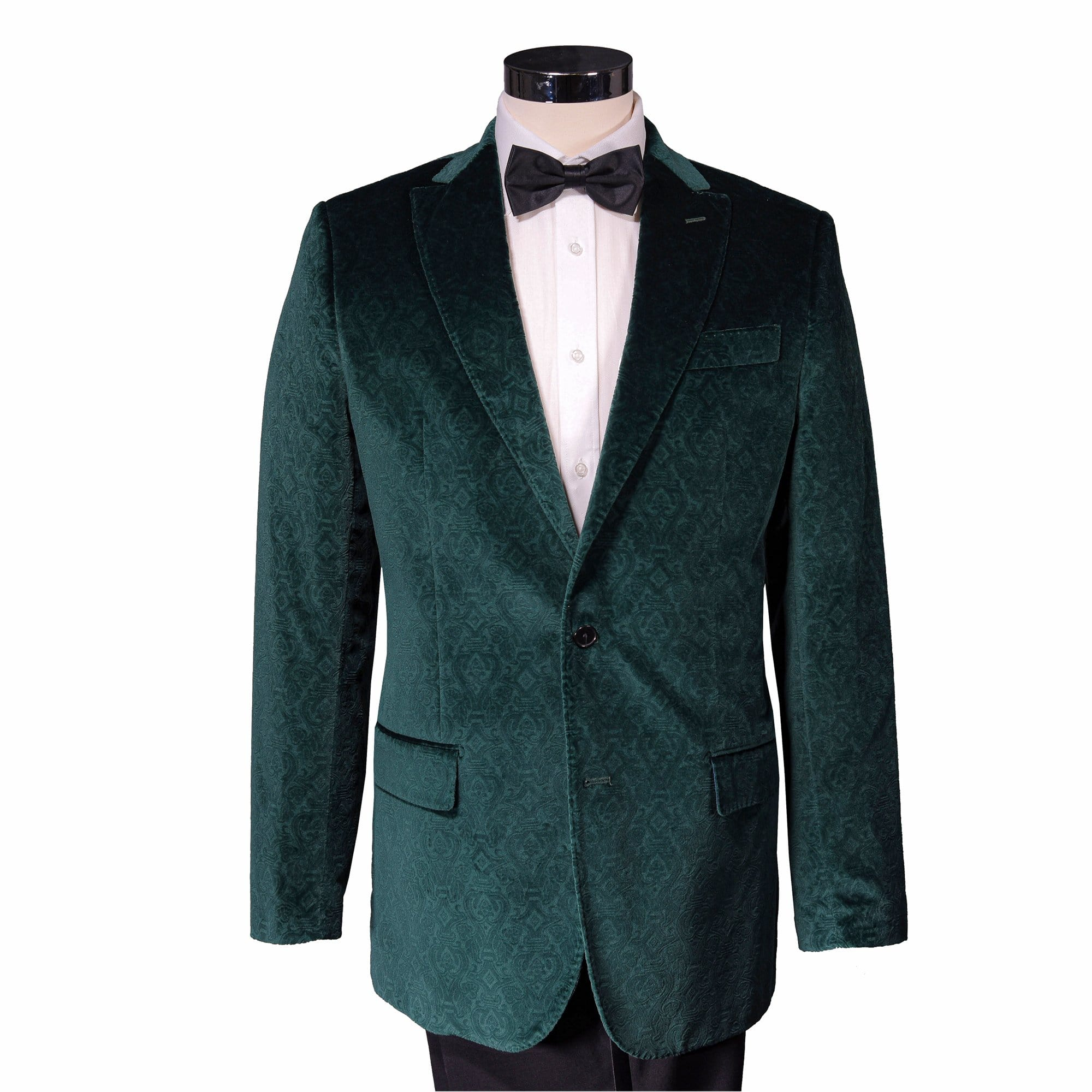 Holly Green Roosevelt Velvet Sport Coat