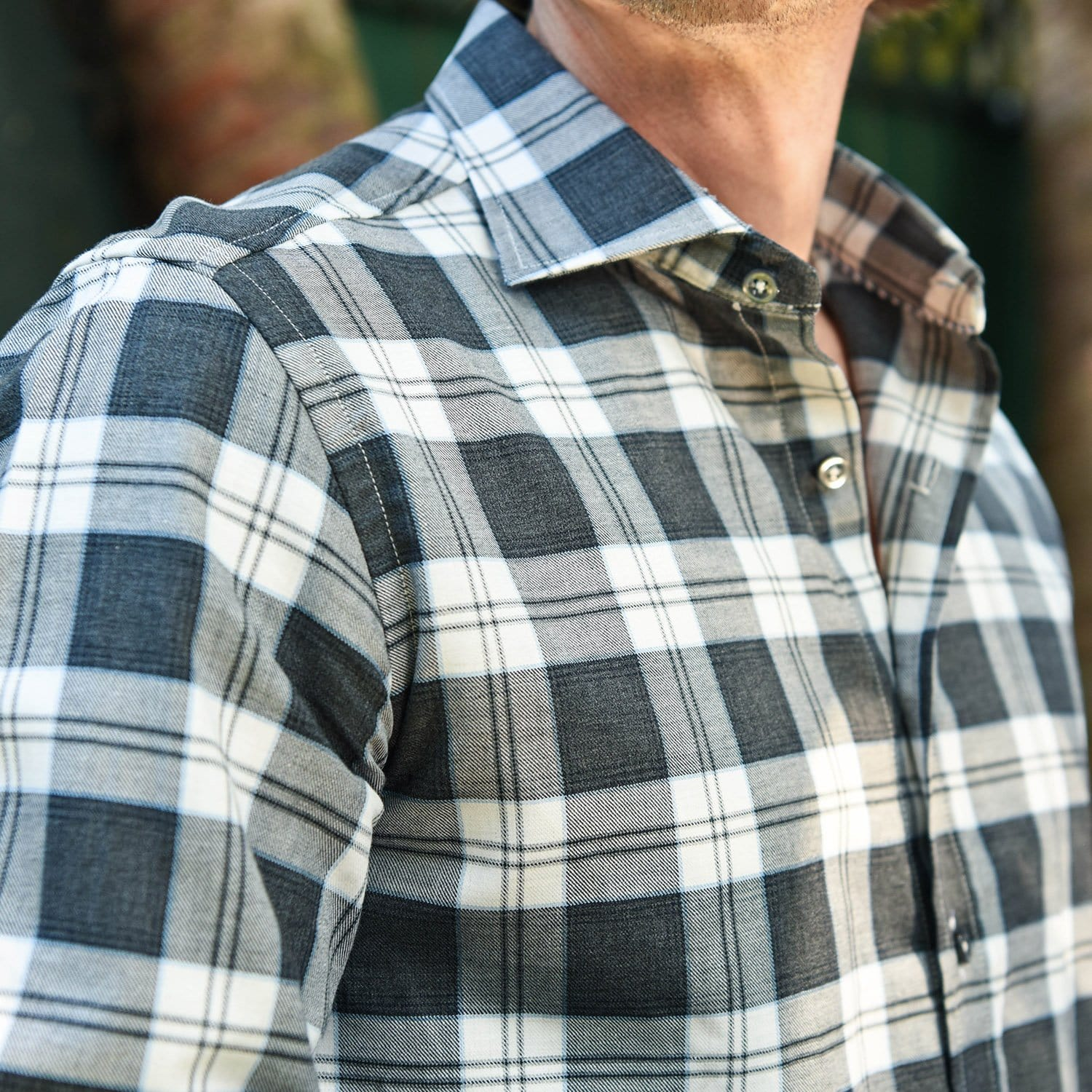 Carroll Grey Plaid