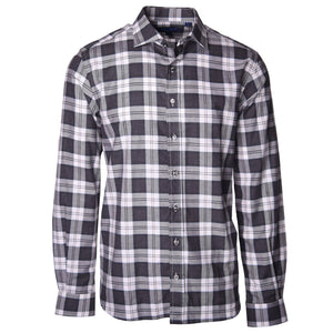 Carroll Grey Plaid - Haspel Clothing