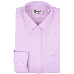 Dauphine Lavender Glenplaid Dress Shirt - Haspel Clothing