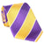 Purple & Gold Collegiate Tie - Haspel Clothing