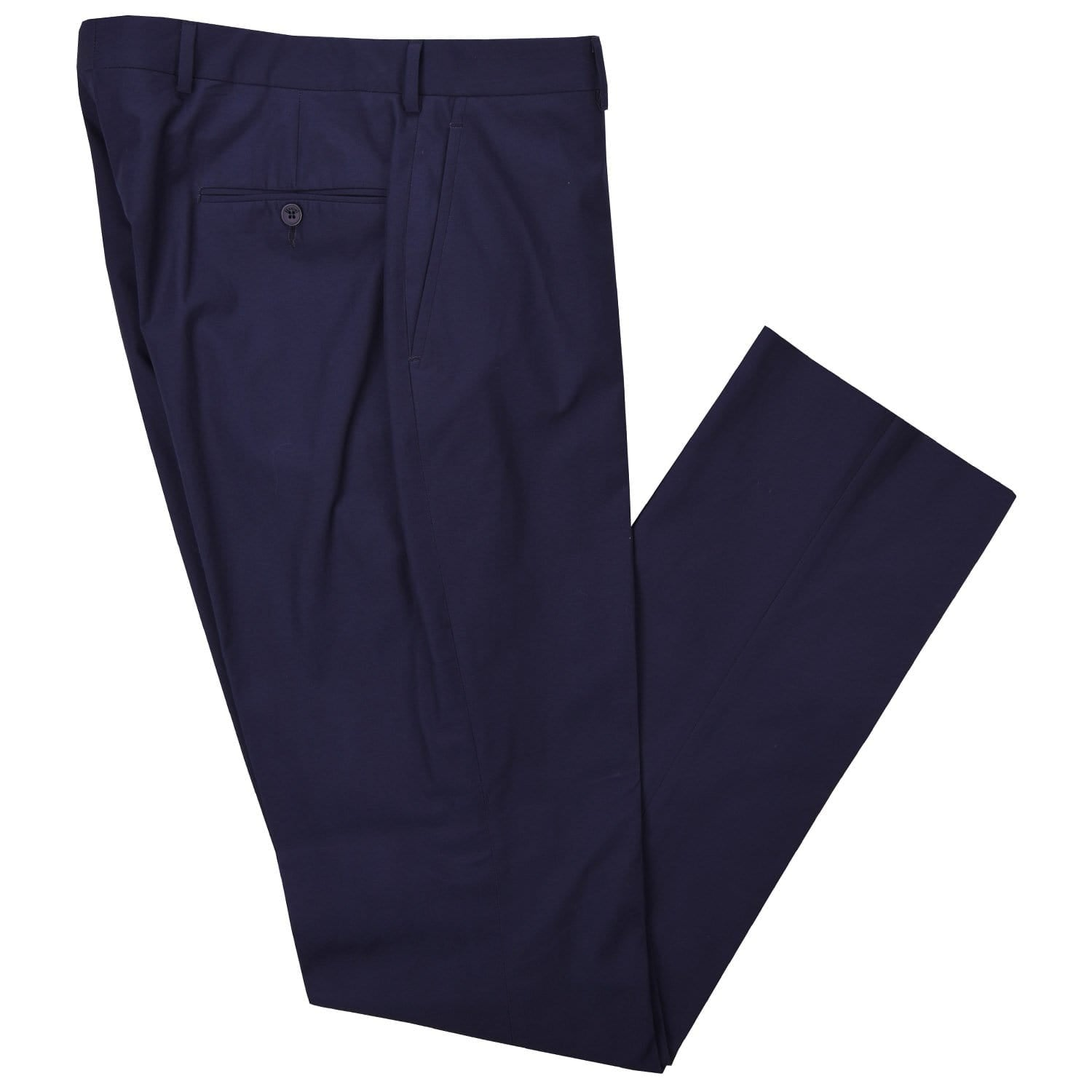 Nautical Navy Poplin Pant - Haspel Clothing