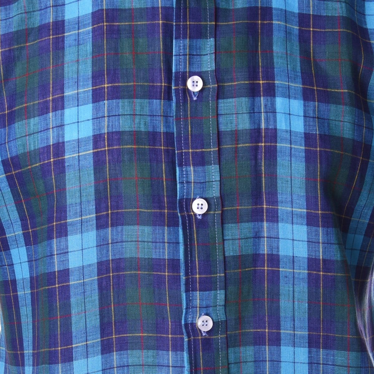 Nicholson Teal Navy Vintage Plaid