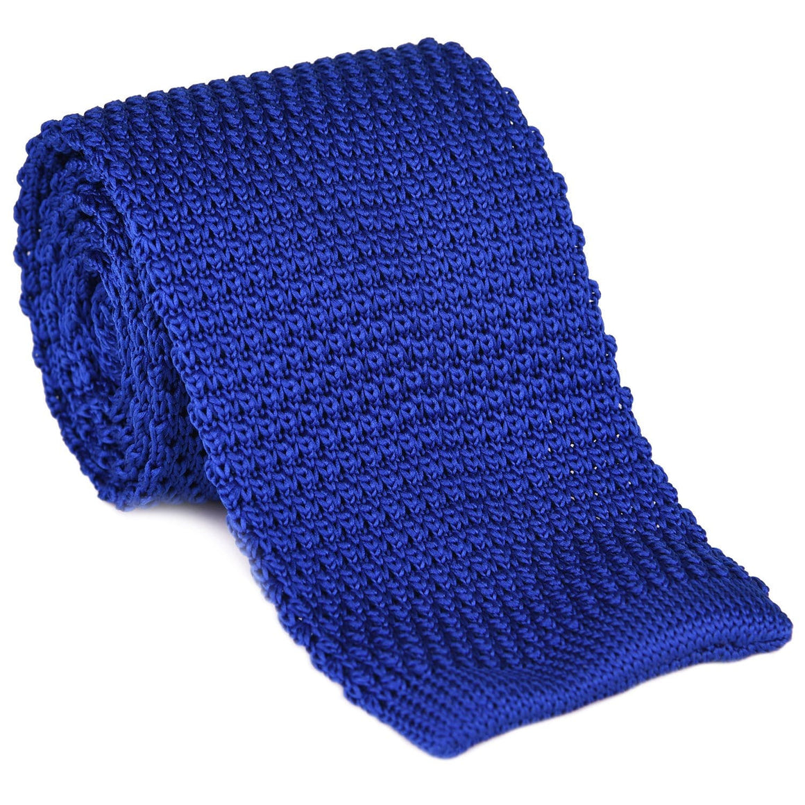 Royal Blue Knit Tie