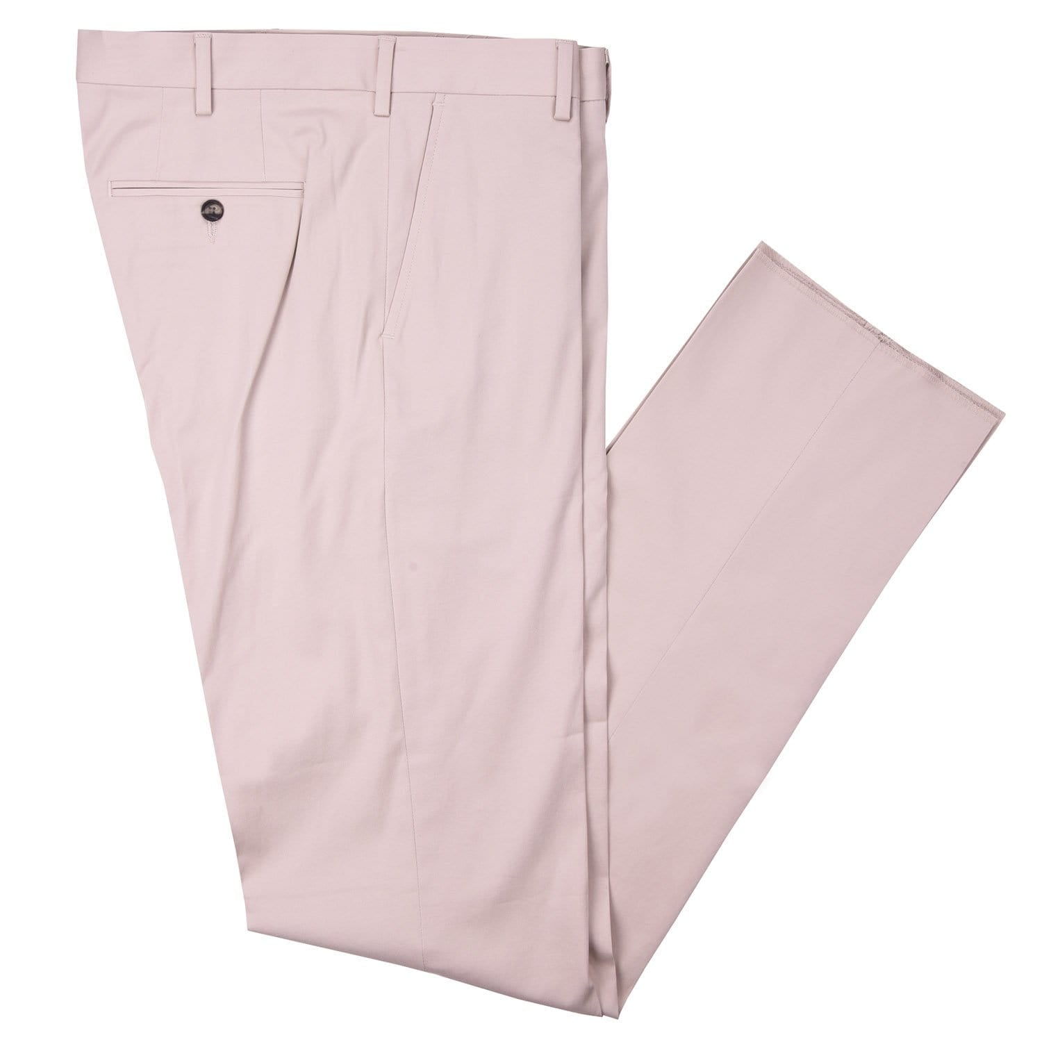 Aubrey Sand Cotton Stretch Poplin Pant - Haspel Clothing