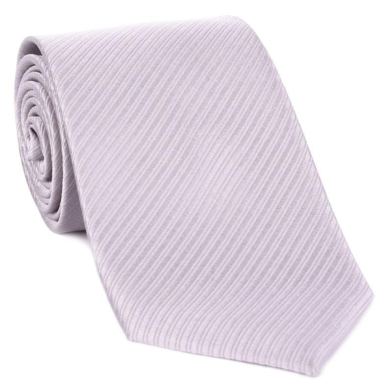 Silver Formal Tone On Tone Tie - Haspel Clothing