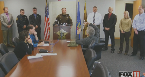 Sex Trafficking In Wisconsin Press Conference