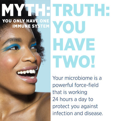 Your microbiome is a powerful force-field that is working 24 hours a day to protect you against infection and disease.
