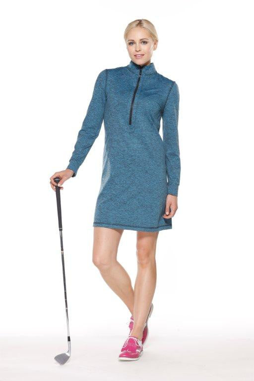 Montecito Zip Front Dress - Beth DePass Active Lifestyle