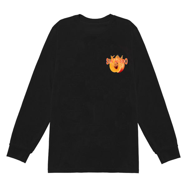 NO TOUR LS T-SHIRT / BLACK
