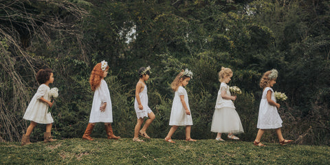 aubrie flower girl dresses