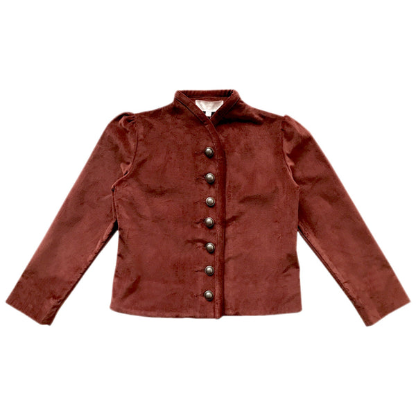 liesl jacket - stretch cotton velveteen