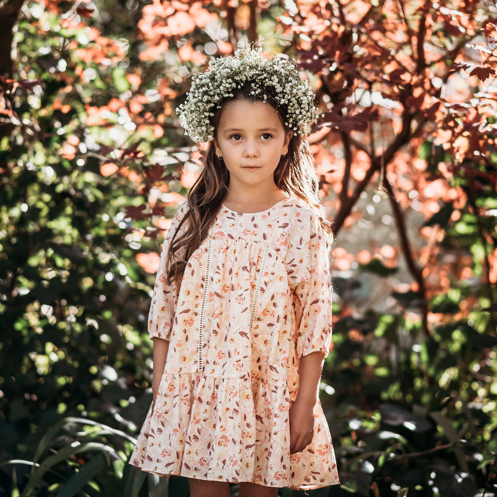 anne of avonlea dress - wildflower voile