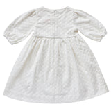 AUBRIE LACE FLOWER GIRL DRESS BK