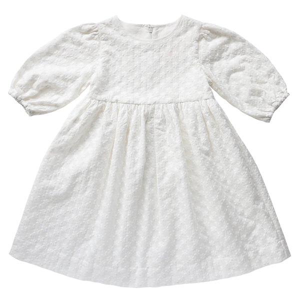 AUBRIE BOHO FLOWER GIRL DRESS FT