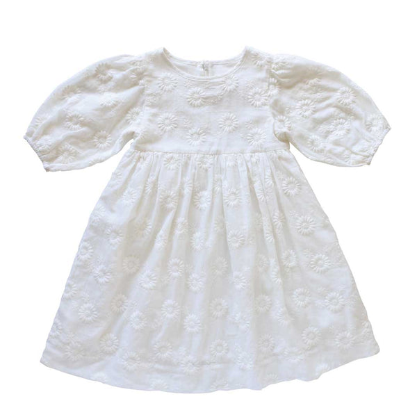 brigetta dress - marguerite broderie anglaise