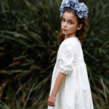AUBRIE LACE FLOWER GIRL DRESS