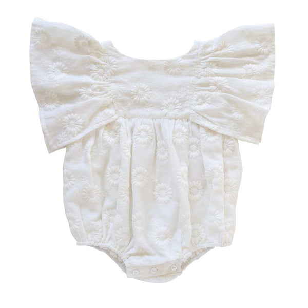 daphne playsuit -  marguerite broderie anglaise