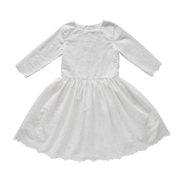 mary elizabeth dress - secret garden broderie anglaise
