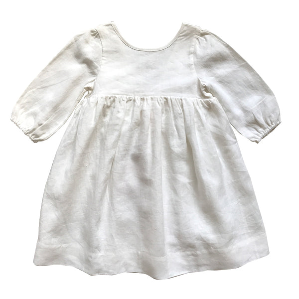 victoria babydoll dress - pure linen