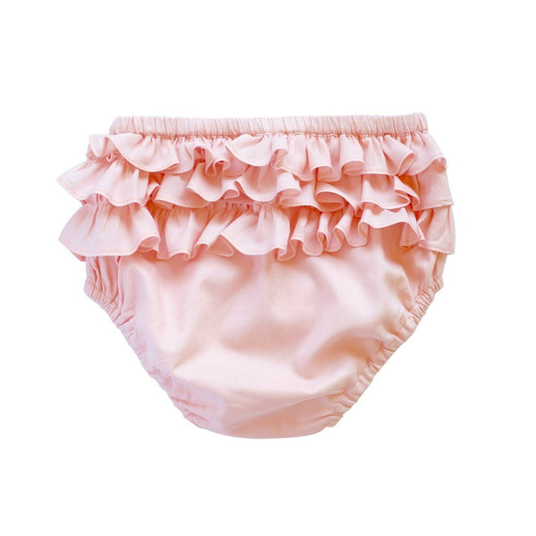 ruffle bum bloomer - plain voile