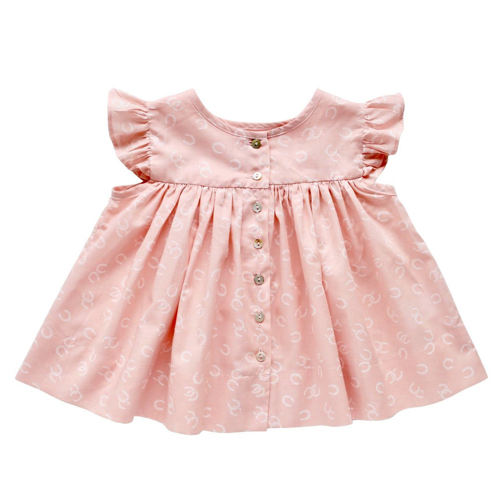 daisy smock top - giddy up voile