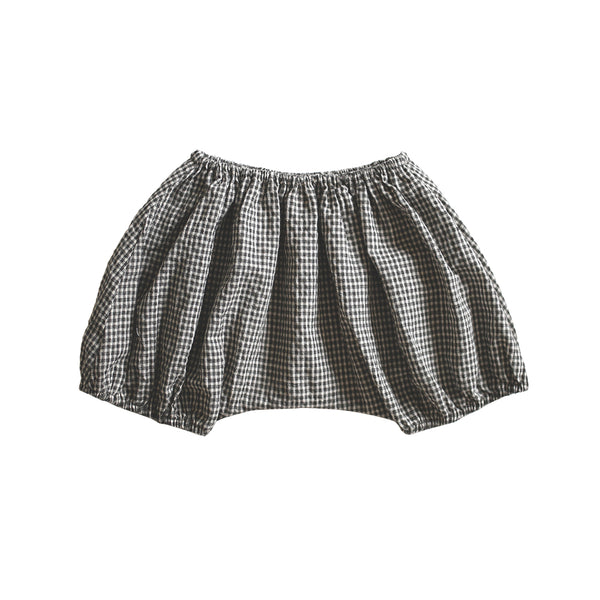 pantaloon bloomer - gingham seersucker