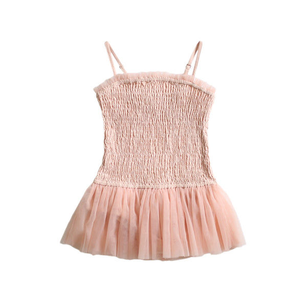 pirouette tutu playsuit - cotton crepe