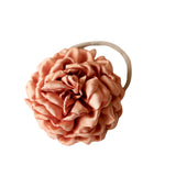 chrysanthemum headband - terracotta