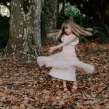Ballet pink Dixie bodysuit and matching romantic tutu skirt