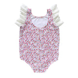 dixie flutter bodysuit - forget-me-not knit