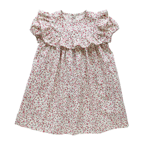 willow dress - bush christmas floral