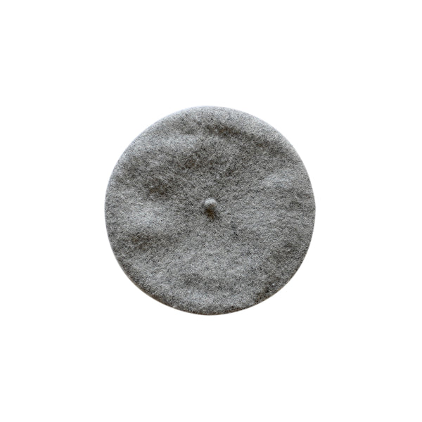 margot beret- grey marle