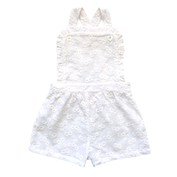 pat a cake playsuit - broderie anglaise