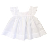 mummy's helper apron top - milk voile
